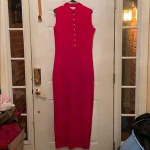 St John Red Evening Dress